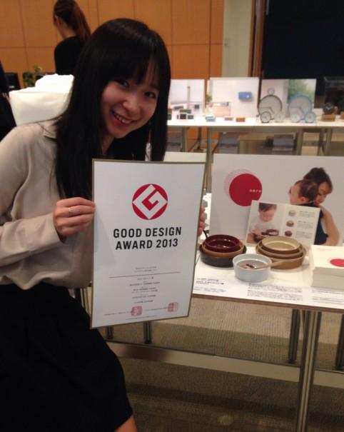 10月30日 和えるが2013 GOOD DESIGN賞を授賞しました。