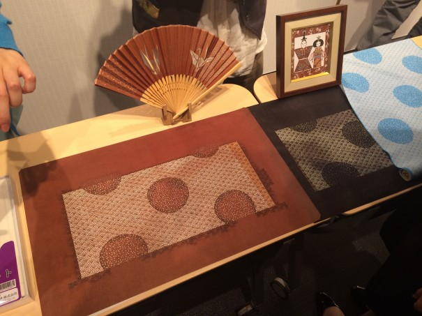 手彫りの伊勢型紙です!
