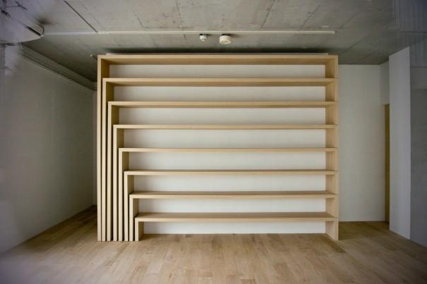 aeru meguro階段箪笥モチーフ棚