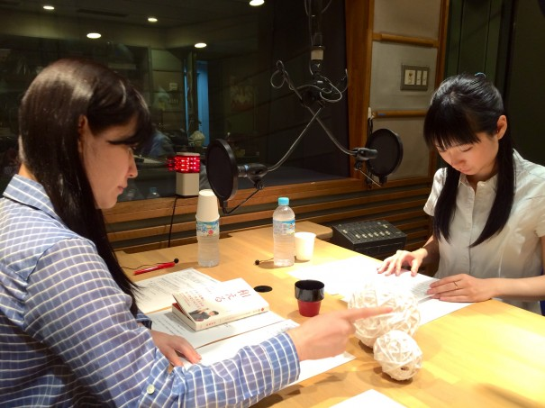 TBSラジオ 収録現場