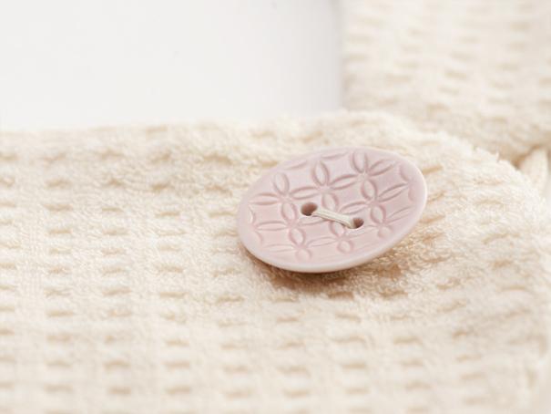 長崎県から波佐見焼の前掛けのボタン