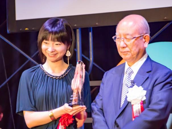 『第4回DBJ女性新ビジネスプランコンペティション』にて、和える代表・矢島里佳がDBJ女性起業大賞を受賞