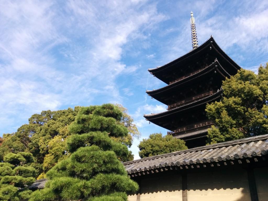 世界遺産 東寺