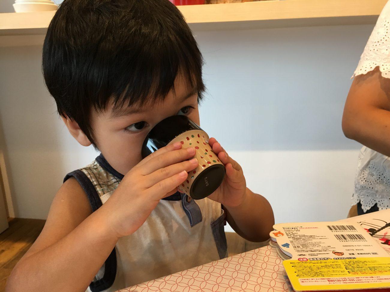 青森県から 津軽塗の こぼしにくいコップ