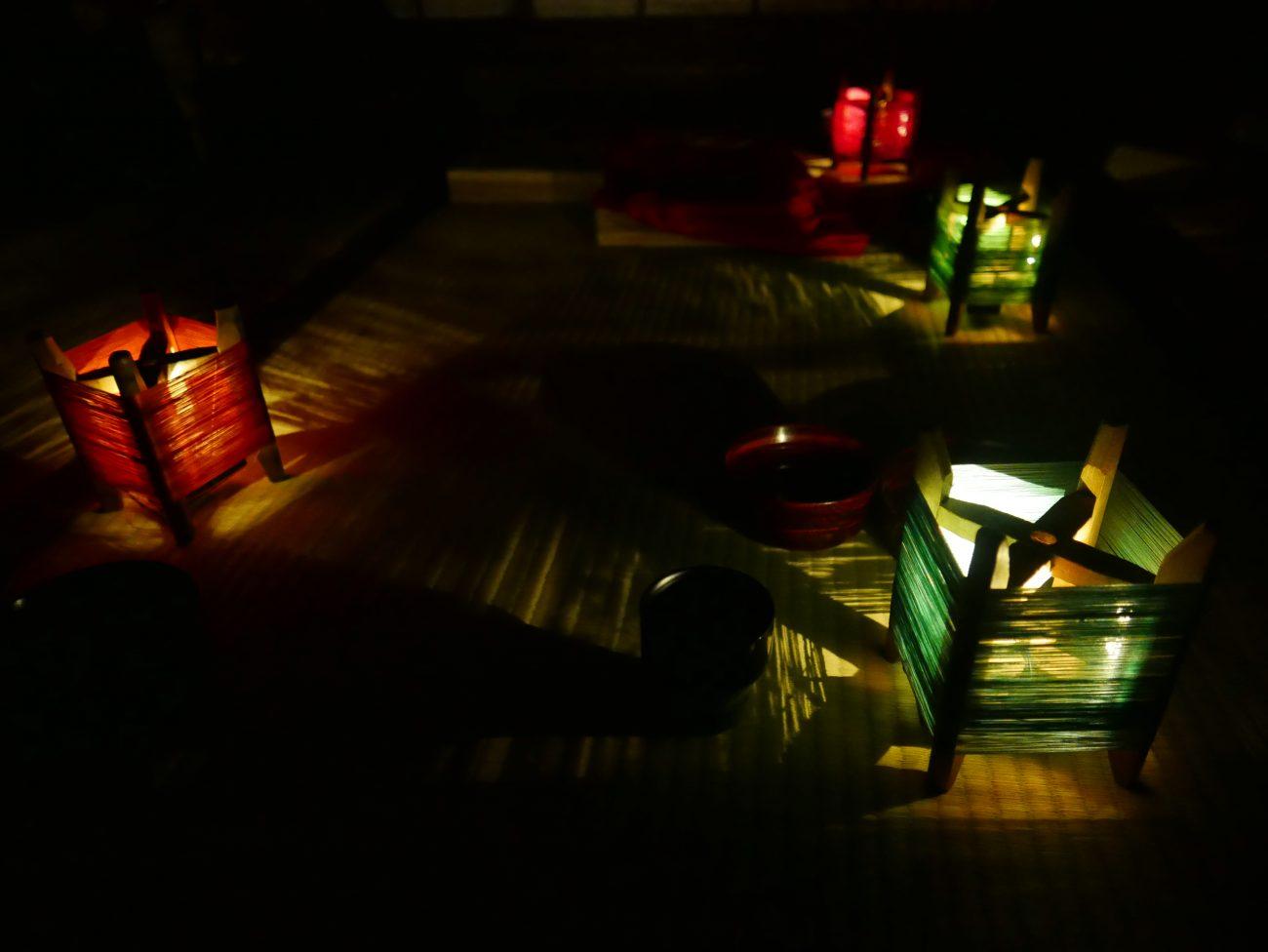 太秦江戸酒場 糸灯籠