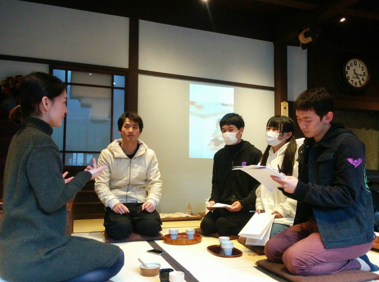 日本語学校の学生インタビュー受け入れ