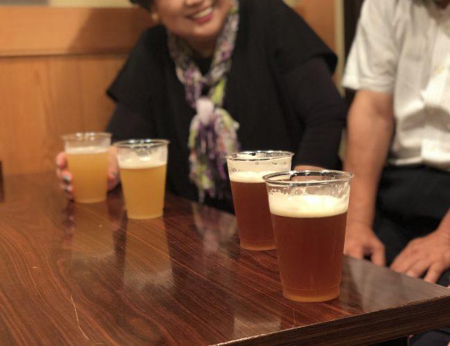 松原ビール 試飲会