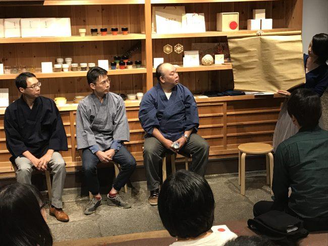 京もの認定工芸士トークイベント2