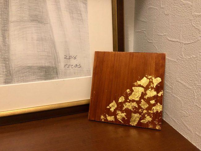 金箔アートパネルのイメージ