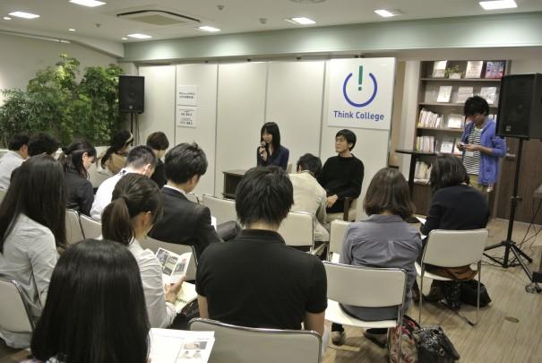 Think College「和える(aeru)から考える 子どものモノ、日本の伝統産業」にて、代表・矢島里佳がNOSIGNER代表・太刀川英輔さんと対談しました!