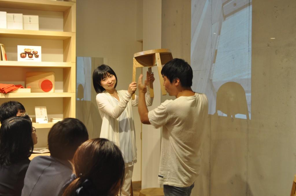 和える aeru meguro 目黒 木の スツール イス ミナトファニチャー DIY