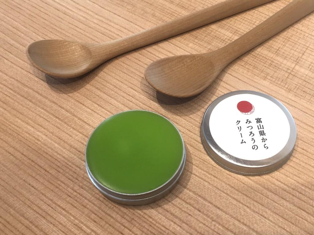 石川県 朴の木 スプーン 匙 子ども 赤ちゃん みつろう 蜜蝋 ファーストスプーン aeru 和える