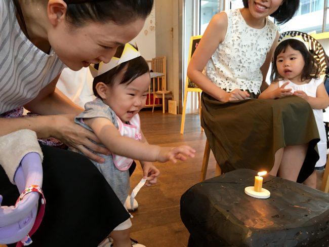 和える aeru 目黒 meguro お誕生日 ハッピーバースデー プレゼント 和ろうそく 赤ちゃん 子ども ベビー キッズ お祝い