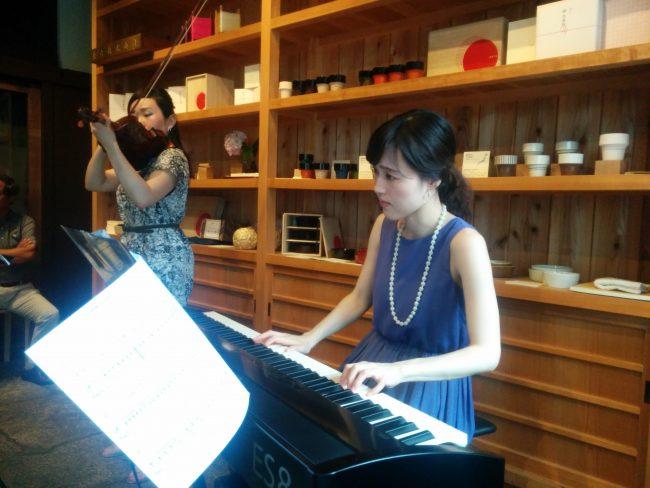 ピアノ バイオリン クラシック コンサート 和える aeru 目黒 meguro 赤ちゃん 子ども 本物 ホンモノ 音 音色