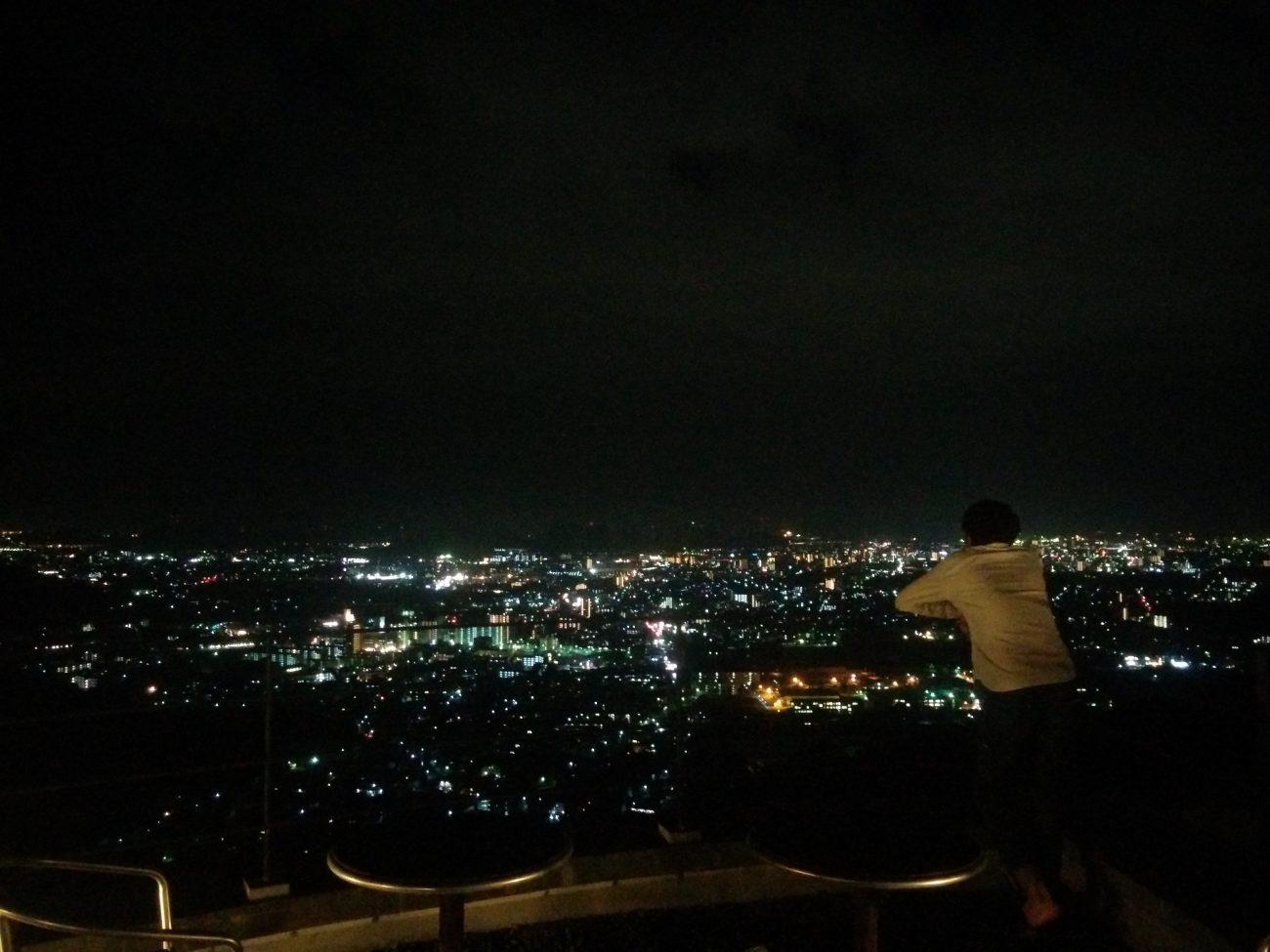 ハイランドからの夜景