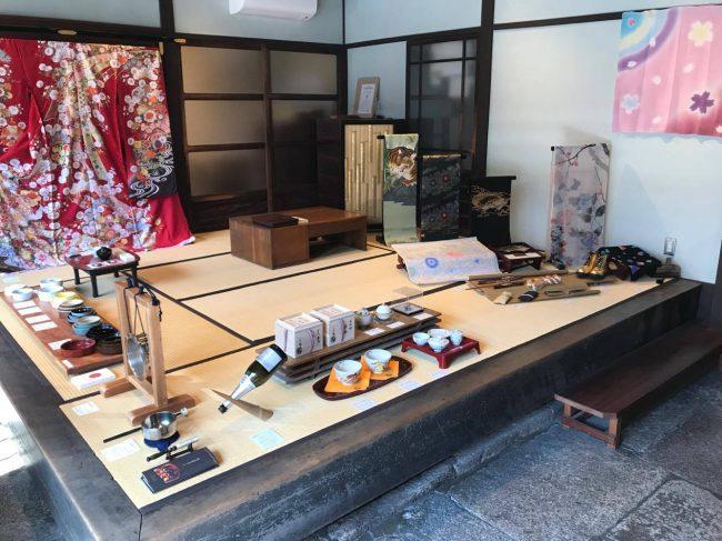 京もの認定工芸士さん展示