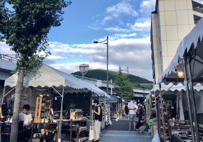 奈良aeru room 五条坂陶器まつり