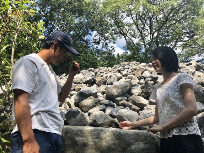 奈良aeru room 石を選ぶ