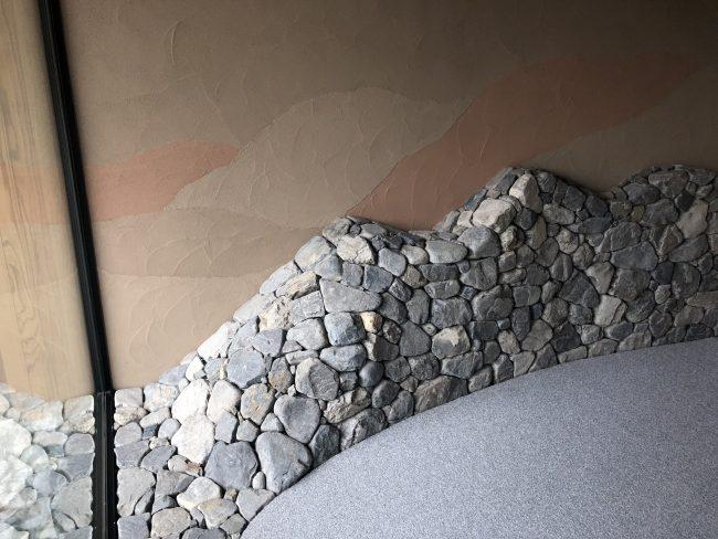奈良aeru room 十津川石を積む職人技